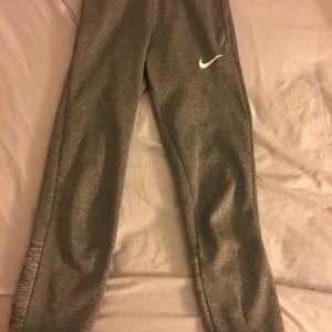 Gray Nike Sweatpants.